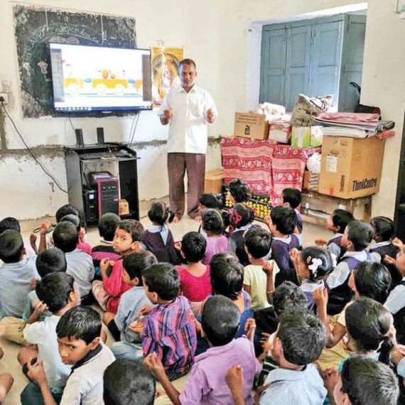 Online crowdfunding is changing classrooms of ignored govt schools