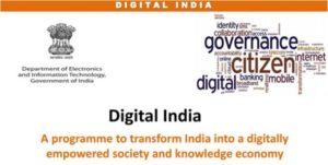 Digital India Initiatve and its impact on Education